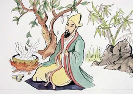 Shen Nong entdeckt den Tee